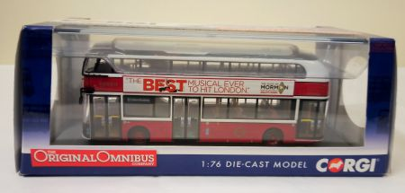 OM46616B New Routemaster, Go-Ahead Heritage Livery by Corgi