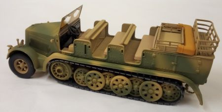 CC60013 Krauss-Maffei Medium Towing Half-Track by Corgi