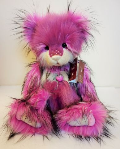 Charlie Bears Cotton Candy Plush Teddy Bear CB202040A