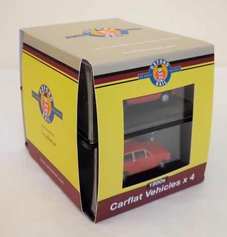 Oxford Rail Carflat Pack 1990s Cars OR76CPK004 1:76 Scale by Oxford Diecast