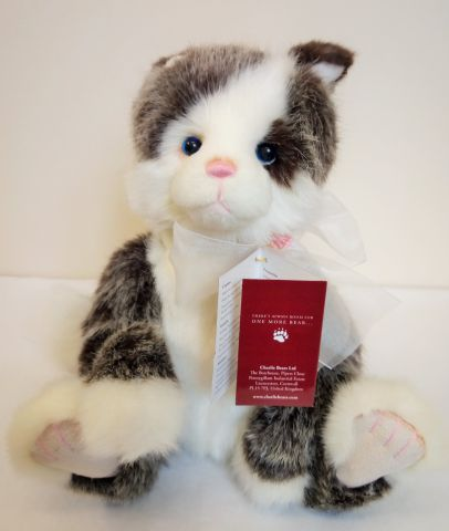 Charlie Bears Rodders Plush Cat CB202050
