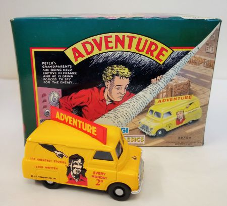 Corgi Comic Classics 'Adventure' Bedford C A Van Limited Edition 98754