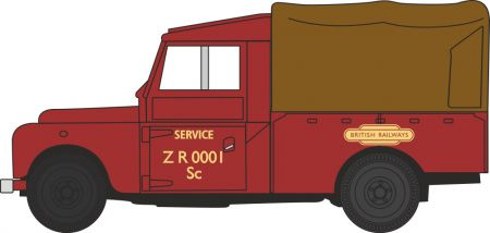 "LAN1109009 Land Rover Series 1 109"" Canvas British Railways"