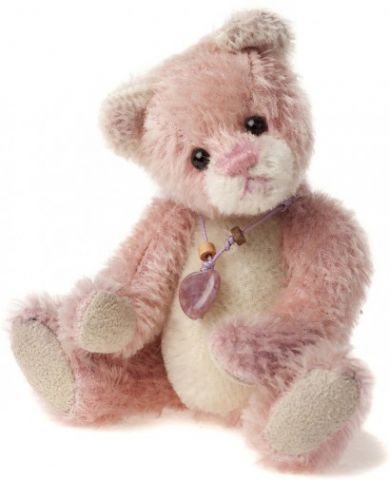 CBK635297A Balletshoe Bear Keyring by Charlie Bears