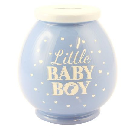 Baby Boy Ceramic Money Pot by Leonardo Lesser & Pavey LP27850