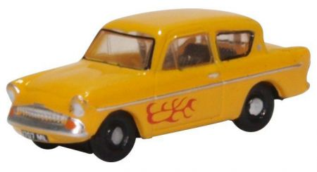 N105008 Ford Anglia 105E  Yellow (Vyvian)