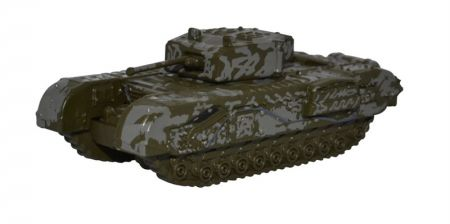 Oxford Diecast Churchill Tank 142 RAC Tunisia 1943 NCHT003