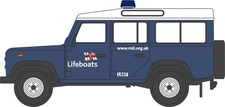Oxford Diecast RNLI Land Rover Defender Station Wagon NDEF014