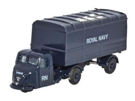 NRAB010 Scammell Scarab Van Trailer Royal Navy