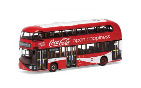OM46623 New Routemaster London United LTZ 1148 Route 10 Kings Cross - Coca Cola®