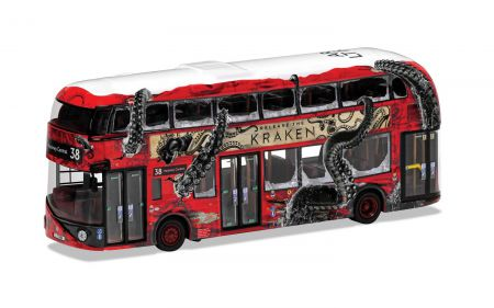 OM46624A New Routemaster Arriva London LTZ 1192 Route 38 Hackney Central, 'Release the Kraken'