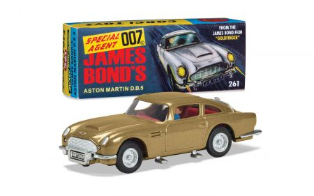 Corgi RT26101 James Bond Aston Martin DB5 'Goldfinger' 60's version