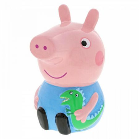 George Ceramic Money Bank Peppa Pig by Enesco A29709