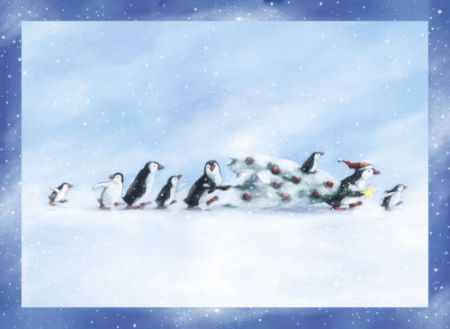 Coppenrath Penguins Christmas Story Traditional Advent Calendar ACL4723
