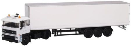 SP141A DAF 2800 Short Box Trailer Plain White