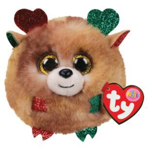 TY Fudge Christmas Puffie 2020 | 42517
