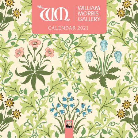 William Morris Gallery Mini Wall Calendar 2021 by Flame Tree Publishing