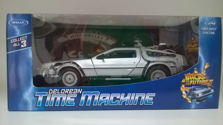 Back to the Future Delorean Part II by Welly 22441W