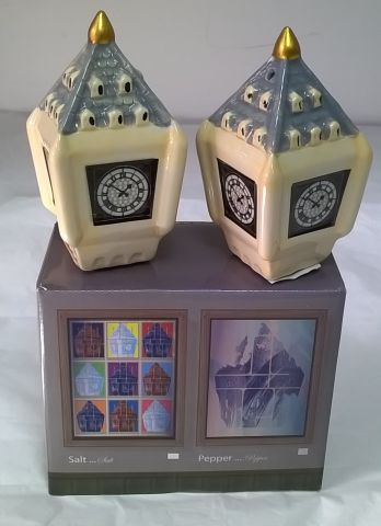 LON36 Big Ben Salt and Pepper Set