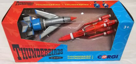 Corgi Thunderbirds set  – Thunderbirds 1 & Thunderbird 3 CC00901