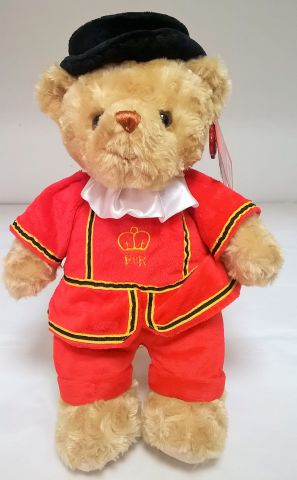 SL4148 Beefeater Teddy Bear 25cm by Keel Toys