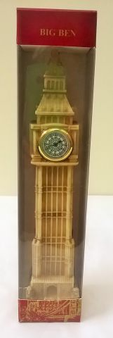 008 Big Ben Marble Medium Clock 20cm