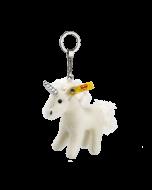 Steiff Unicorn Pendant Key Ring Mohair 11cm 030918