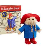 Collectors Paddington Bear in 60th Anniversary Gift Box Plush 25.5cm by Rainbow Designs PA1493
