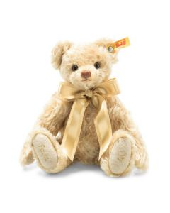 Steiff Jubilee Teddy Bear Blond Mohair 27cm 001697