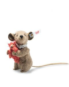 Steiff Xenia Mouse with Teddy Bear 11cm 006142