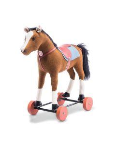 steiff friedhelms riding horse 32cm 006838