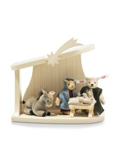 Steiff Christmas Nativity Scene 2020 Four Piece Set 006937