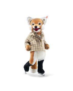 Fox Ice skater 26cm (10 inches) high. Steiff 007071