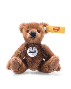 Steiff Mini Teddy Bear Brown Mohair 9cm 028151