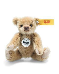 Steiff Mini Teddy Bear Light Brown Mohair 9cm 028168