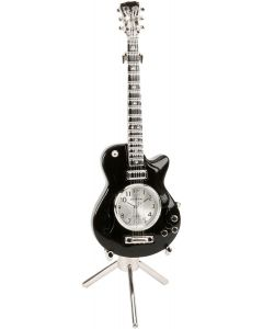 Miniature Guitar Clock by Shudehill Gifts 0395
