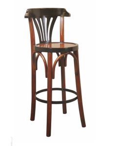 Authentic Models Barstool Deluxe Grand Hotel,Honey MF044A