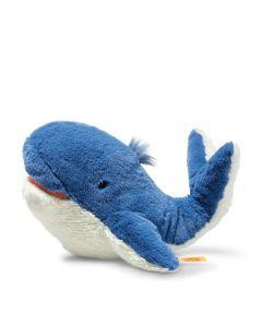 Steiff Tory Whale Soft Cuddly Friends Blue Plush 28cm 063831