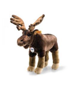 069178 Best For Kids Edvin Elk Standing Plush by Steiff 30cm