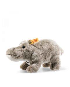 Steiff Sammi Hippopotamus Grey Plush 24cm 077128