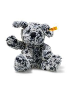 083648 Soft Cuddly Friends Taffy Dog Mottled Grey 30cm by Steiff