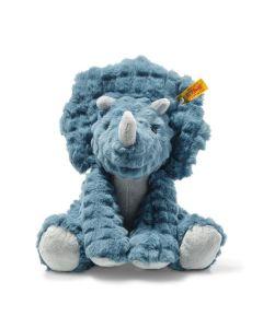 Steiff Soft Cuddly Friends Dixi Triceratops 28cm 087806