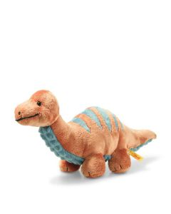 Steiff Bronko Brontosaurus Soft Cuddly Friends 28cm 087837