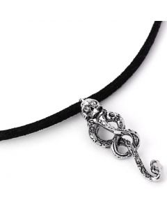 Harry Potter Dark Mark Tattoo Choker Necklace by The Carat Shop WN0139