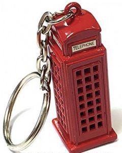 Phone Box Metal Key Ring by Elgate 11055
