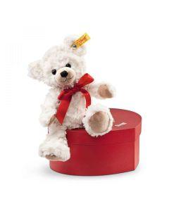 Steiff Sweetheart Teddy Bear In Heart Suitcase 22cm 109904