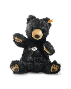 Steiff Josey Grizzly Bear Black Plush 27cm 113291