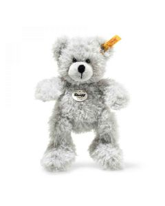 113772 Fynn Teddy Bear Grey Plush 18cm by Steiff