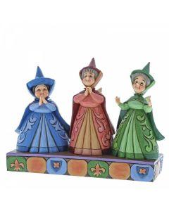 Royal Guests (Three Fairies Figurine)4059734 by Disney Enesco