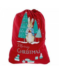 Peter Rabbit Christmas Sack by Enesco A29395